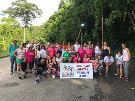 Primeiro dia do Projeto Saúde em movimento foi um sucesso.