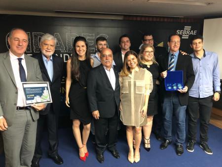 São José Recebe Premiação – 3º Lugar Programa Cidades Empreendedoras