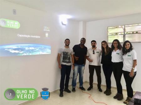 Secretaria de Meio Ambiente participa da capacitação DE OLHO DO VERDE!