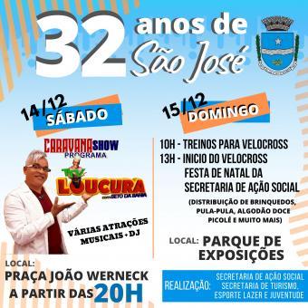 32 anos de São José.