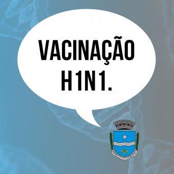 Vacinação H1N1.