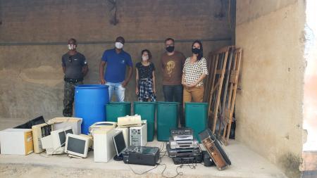 Semana de descarte de lixo eletrônico acontece em São José.