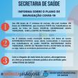 Secretaria de Saúde: Plano de Imunização COVID-19