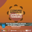 1º Concurso Estadual de Samba de Terreiro