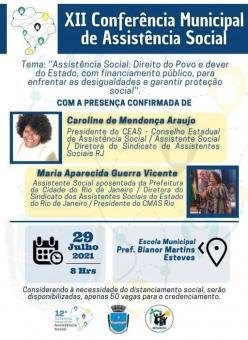 XII Conferência de Assistência Social