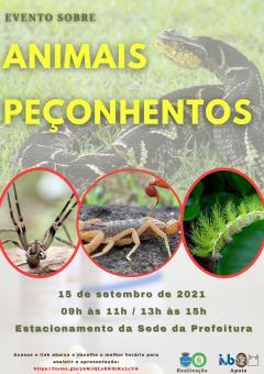 Dia Internacional de Atenção aos Acidentes por ANIMAIS PEÇONHENTOS