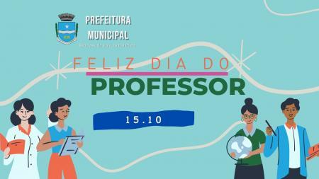 Dia do Professor - 15 de Outubro